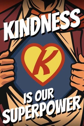 kindness is our superpower poster